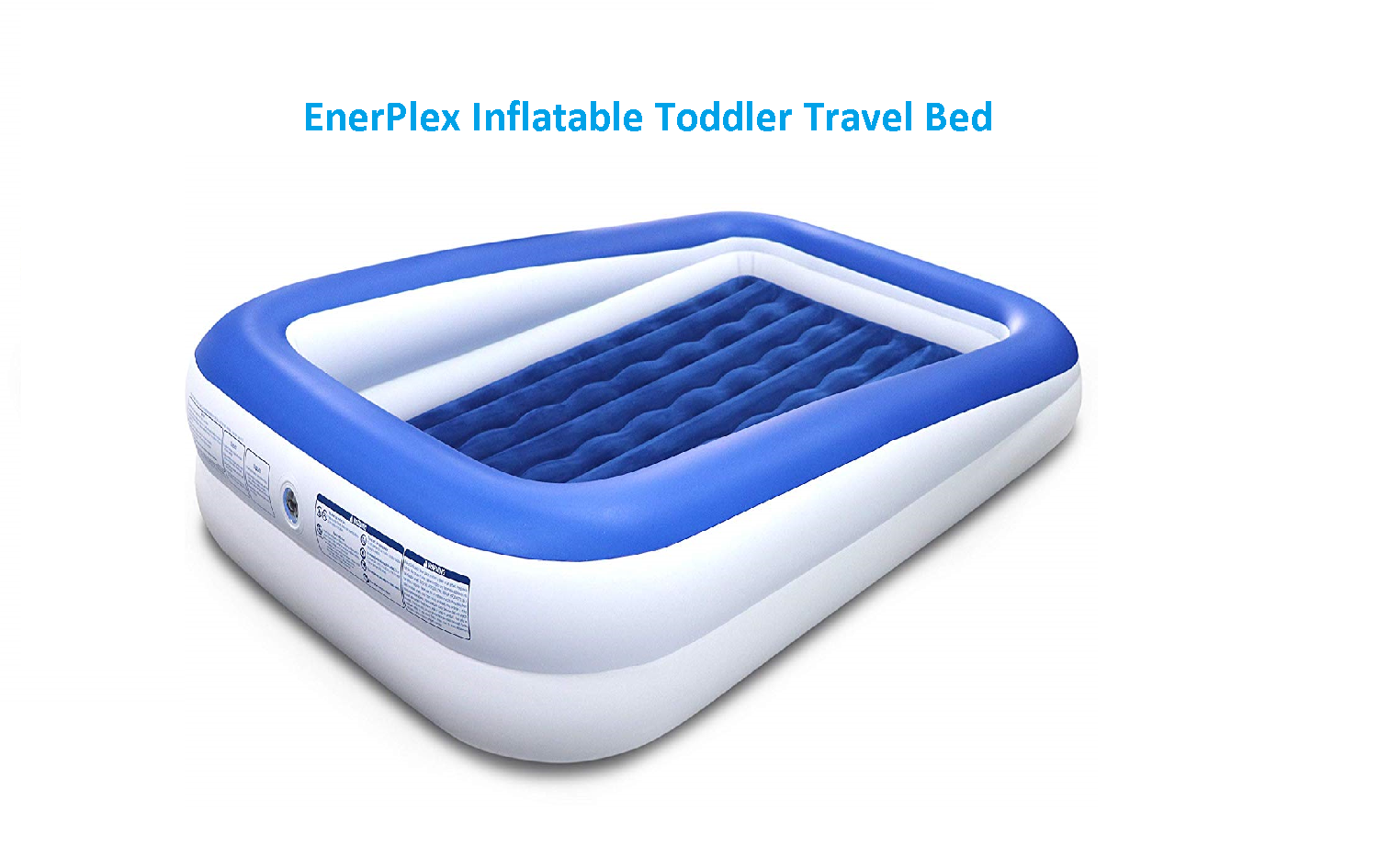 EnerPlex Inflatable Toddler Travel Bed