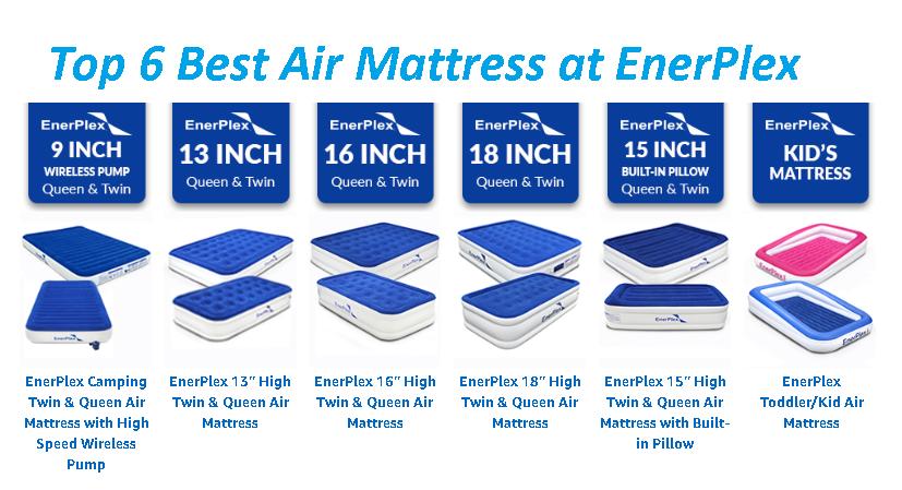 Top 6 Best Air Mattress at EnerPlex