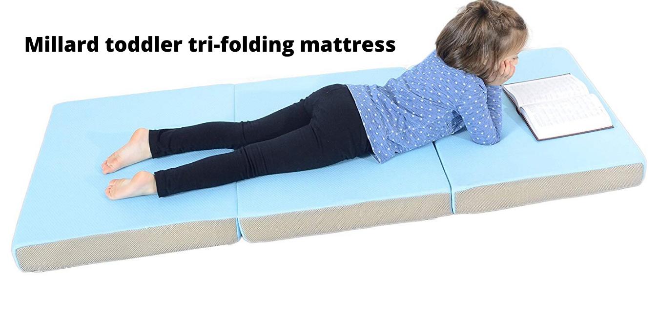 Millard toddler tri-folding mattress (2)