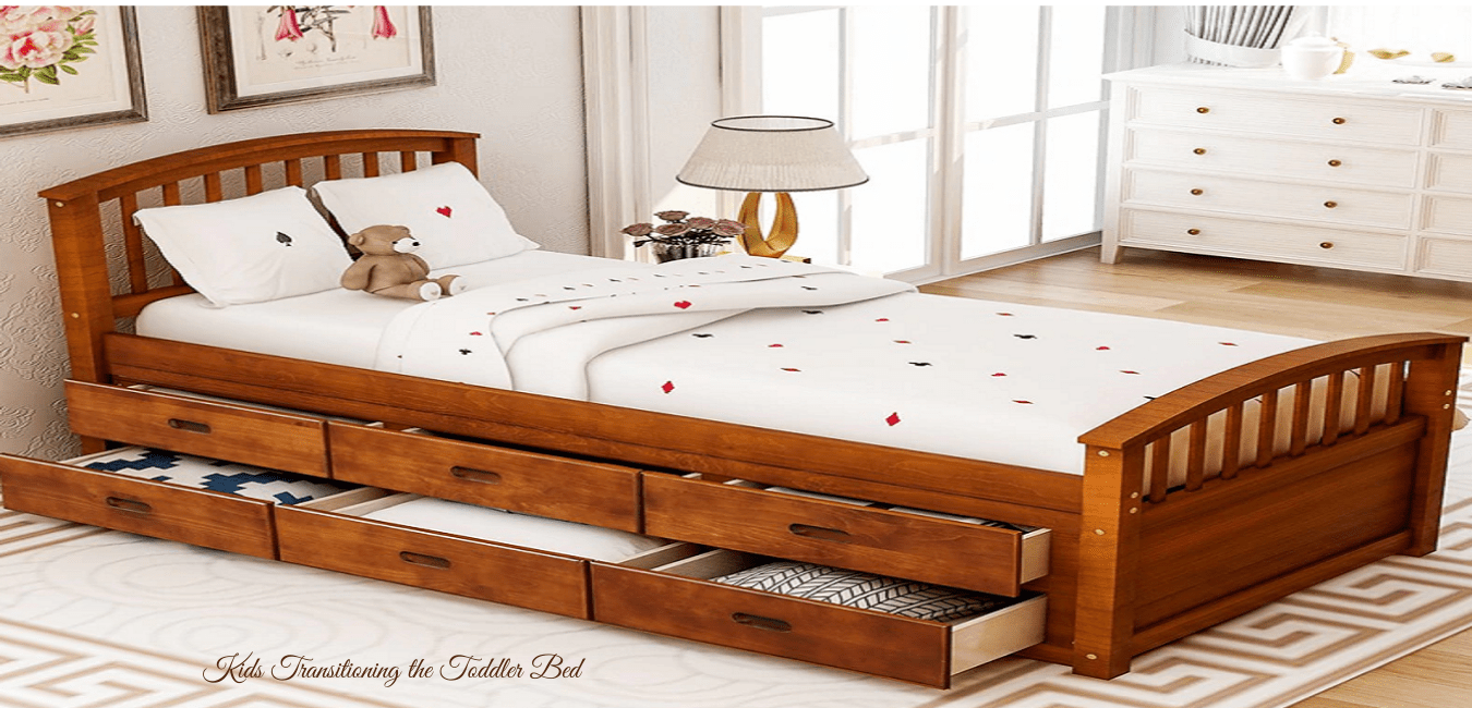 Kids Transitioning the Toddler Bed